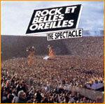 Recto de la pochette de l'album, Rock et Belles Oreilles / The spectacle.