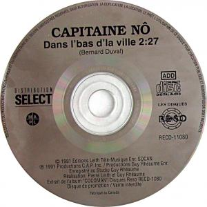 CD simple du Capitaine Nô, Dans l'bas de la ville.