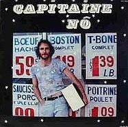 Recto de la pochette de l'album du Capitaine Nô, Capitaine Nô version française.